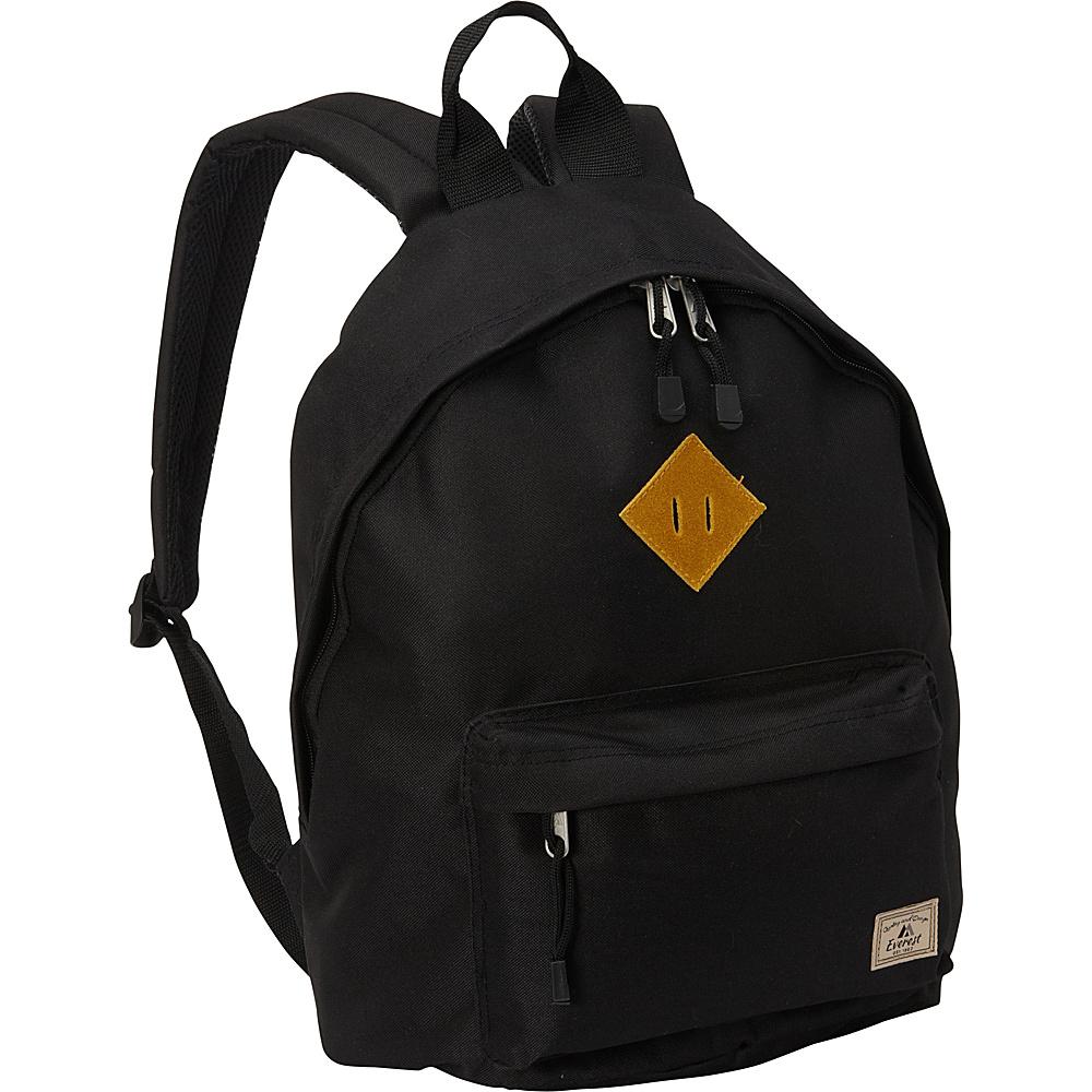Everest Vintage Backpack Black - Everest Everyday Backpacks - Backpacks, Everyday Backpacks