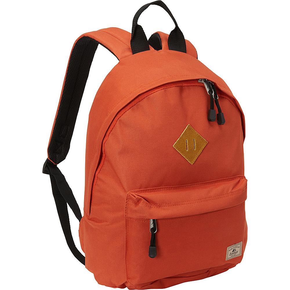 Everest Vintage Backpack Rust Orange - Everest Everyday Backpacks - Backpacks, Everyday Backpacks