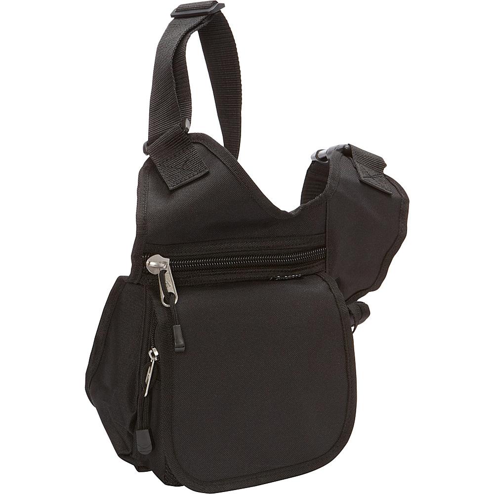 Everest Messenger Bag - Small Black - Everest Messenger Bags - Work Bags & Briefcases, Messenger Bags