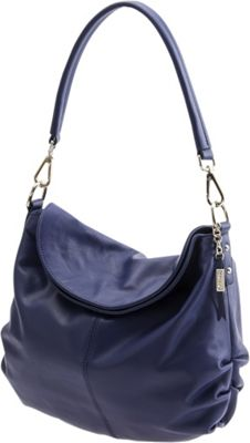 Baggs Trinity Hobo Blue - Baggs Leather Handbags