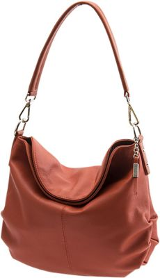 Baggs Trinity Hobo Chili - Baggs Leather Handbags