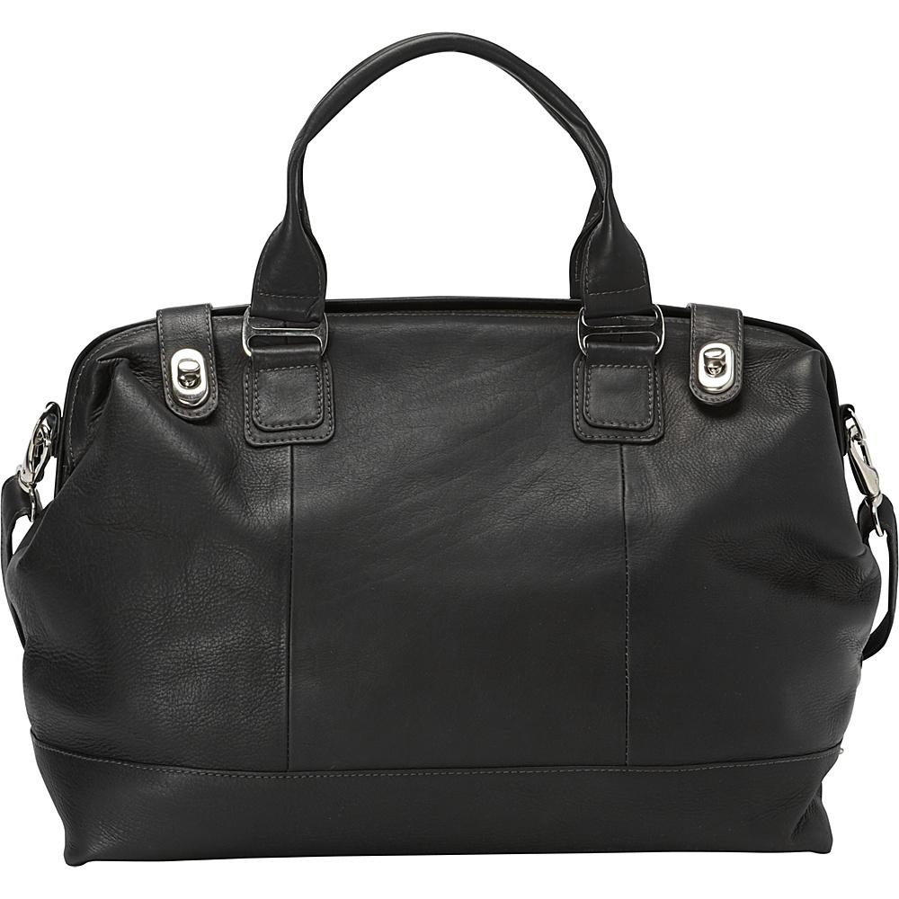 Piel Top Frame Carry-On Black - Piel Softside Carry-On - Luggage, Softside Carry-On