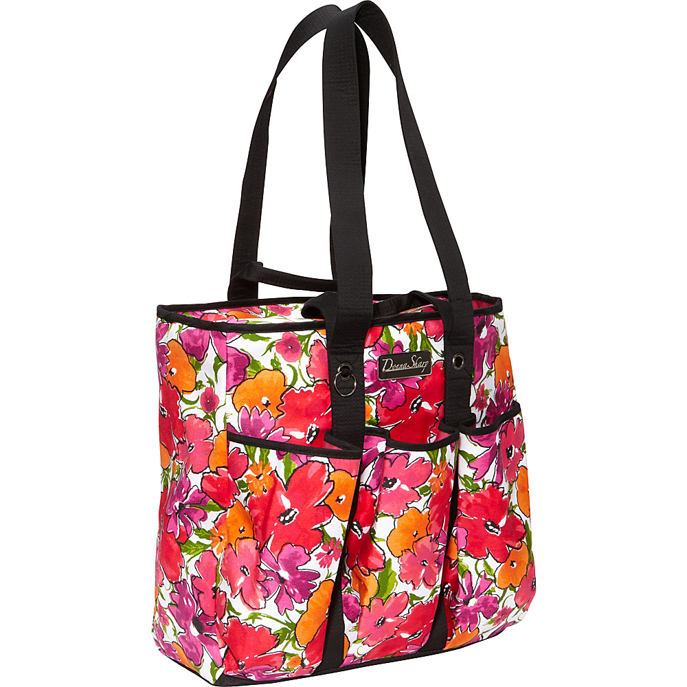 Donna Sharp Utility Bag Malibu Flower - Donna Sharp Fabric Handbags