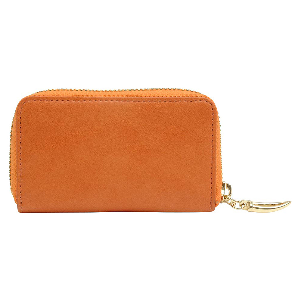 TUSK LTD Coin Card Case Tangerine TUSK LTD Women s Wallets