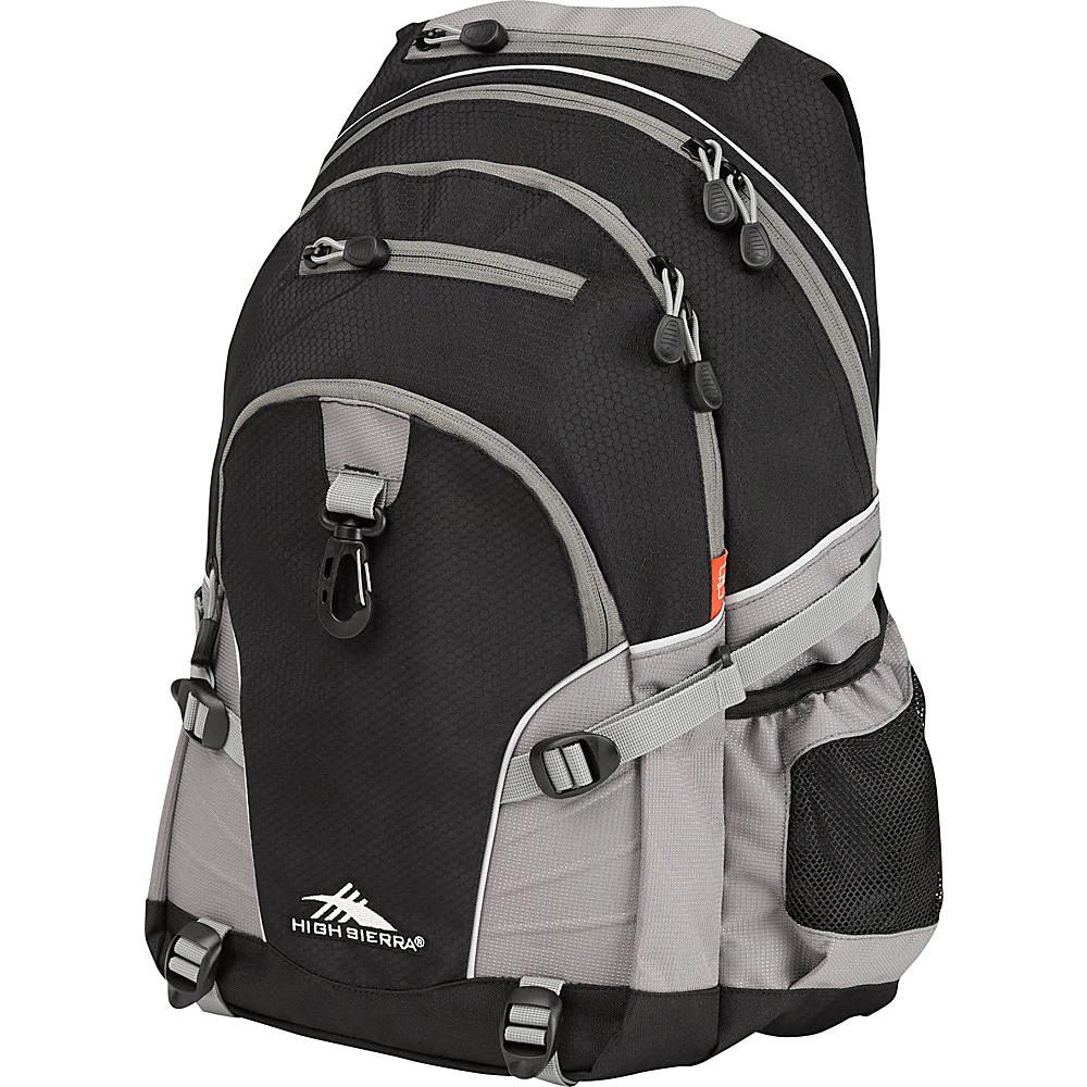 High Sierra Loop Daypack - Black - Backpacks, Everyday Backpacks