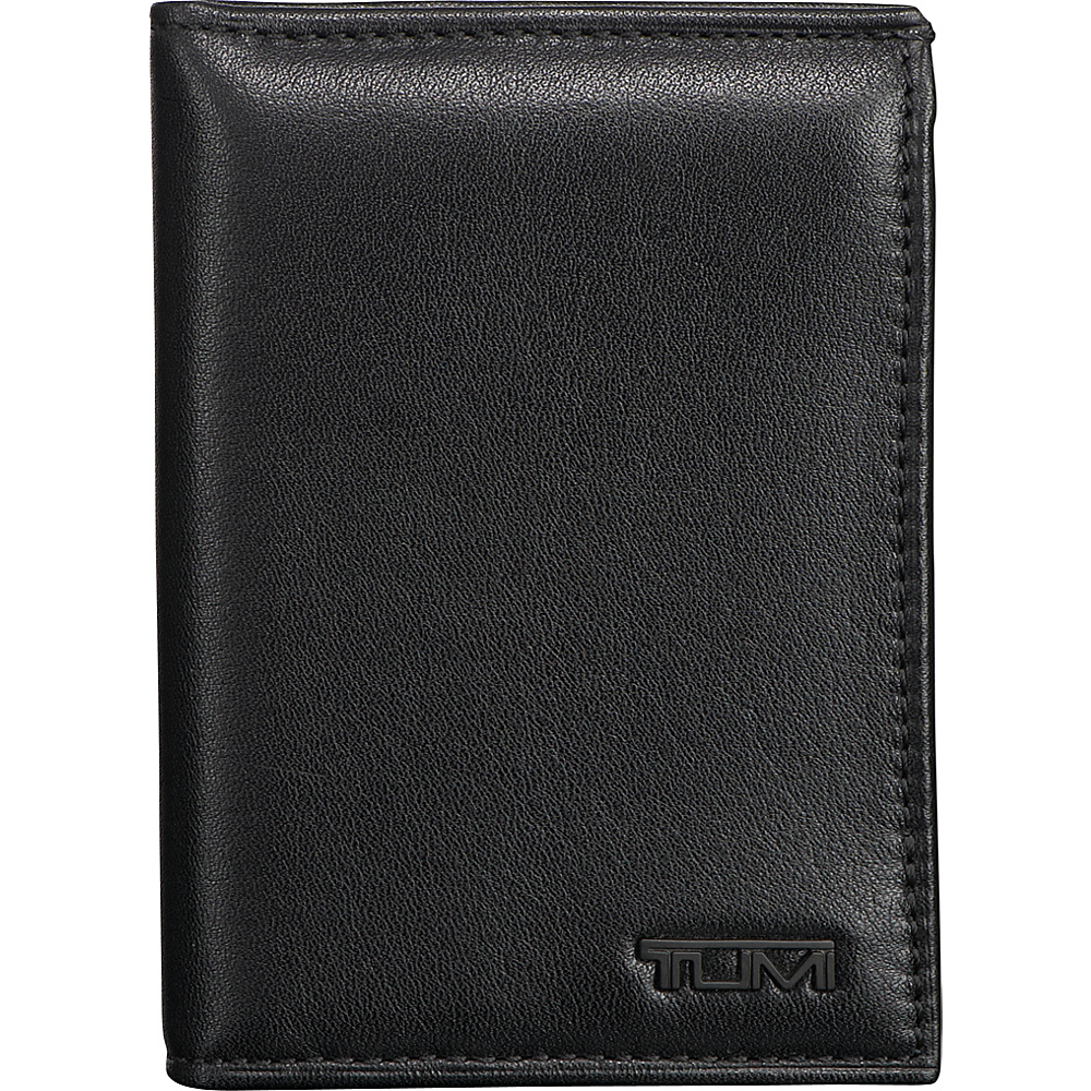 Tumi Delta L-Fold ID Black - Tumi Mens Wallets - Work Bags & Briefcases, Men's Wallets