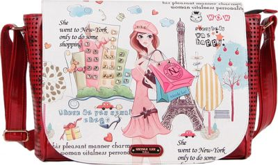 2 Ratings · Nicole Lee · Shopping Girl Messenger Bag