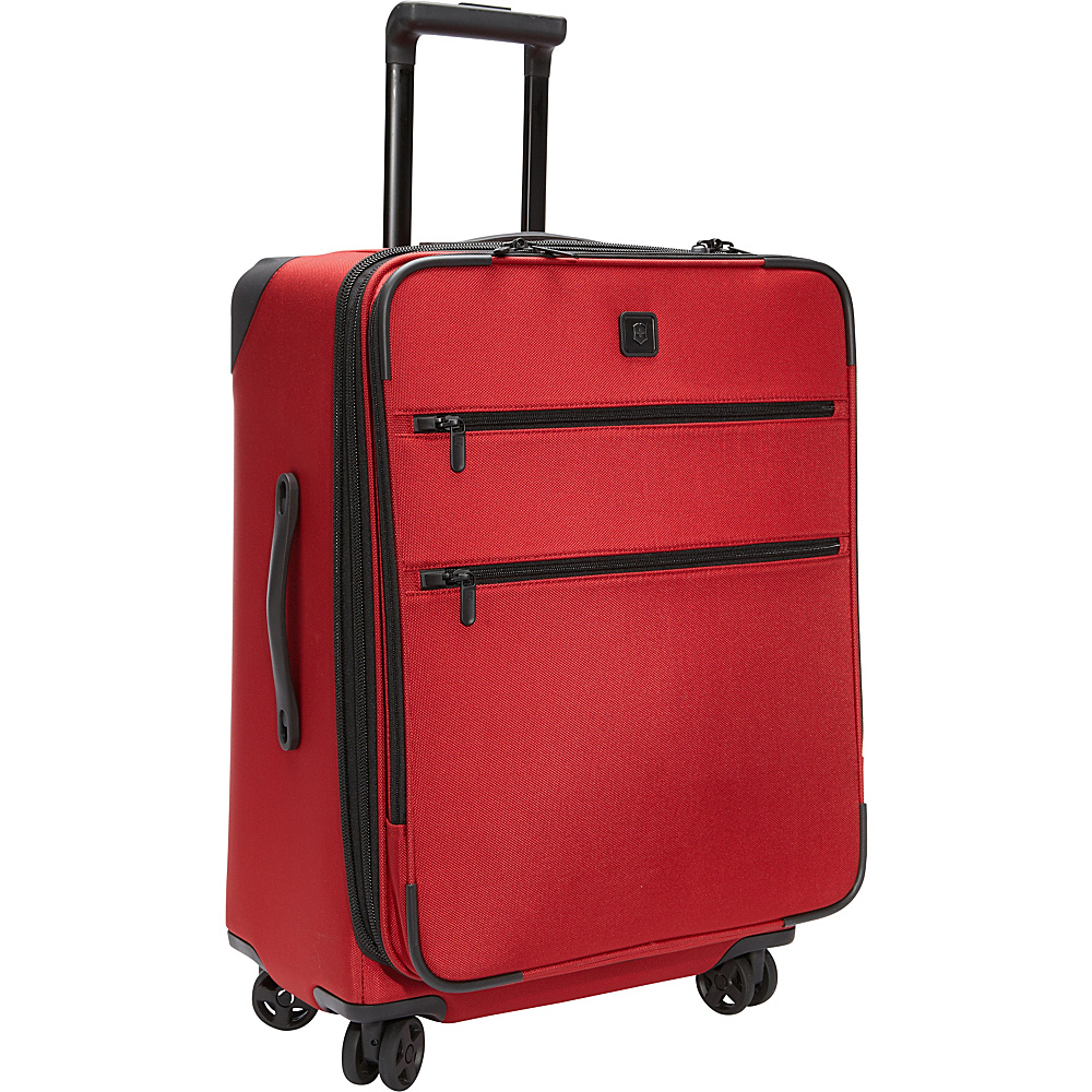 Victorinox Lexicon 24 Dual-Caster Luggage Red - Victorinox Large Rolling Luggage