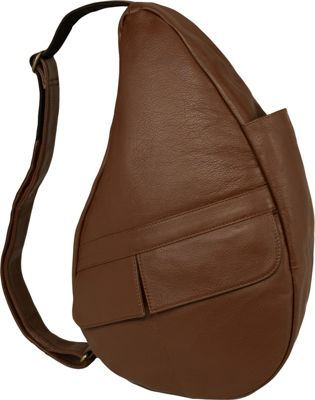 AmeriBag Healthy Back Bag evo Leather Small Chestnut - AmeriBag Leather Handbags