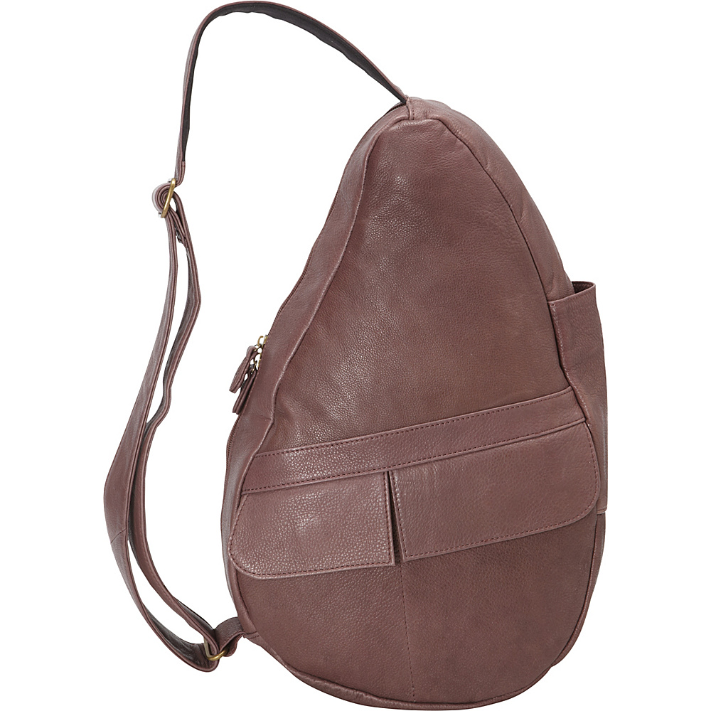 55ab9ebcb298 ... UPC 751470006046 product image for AmeriBag Healthy Back Bag evo  Leather Small Plum - AmeriBag Leather