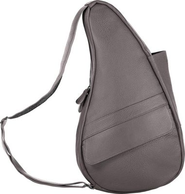AmeriBag Healthy Back Bag evo Leather Small Grey - AmeriBag Leather Handbags