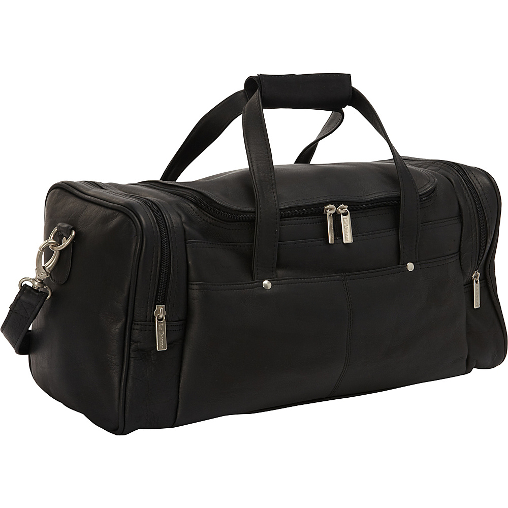 Le Donne Leather Hayden Duffle Black - Le Donne Leather Travel Duffels - Duffels, Travel Duffels