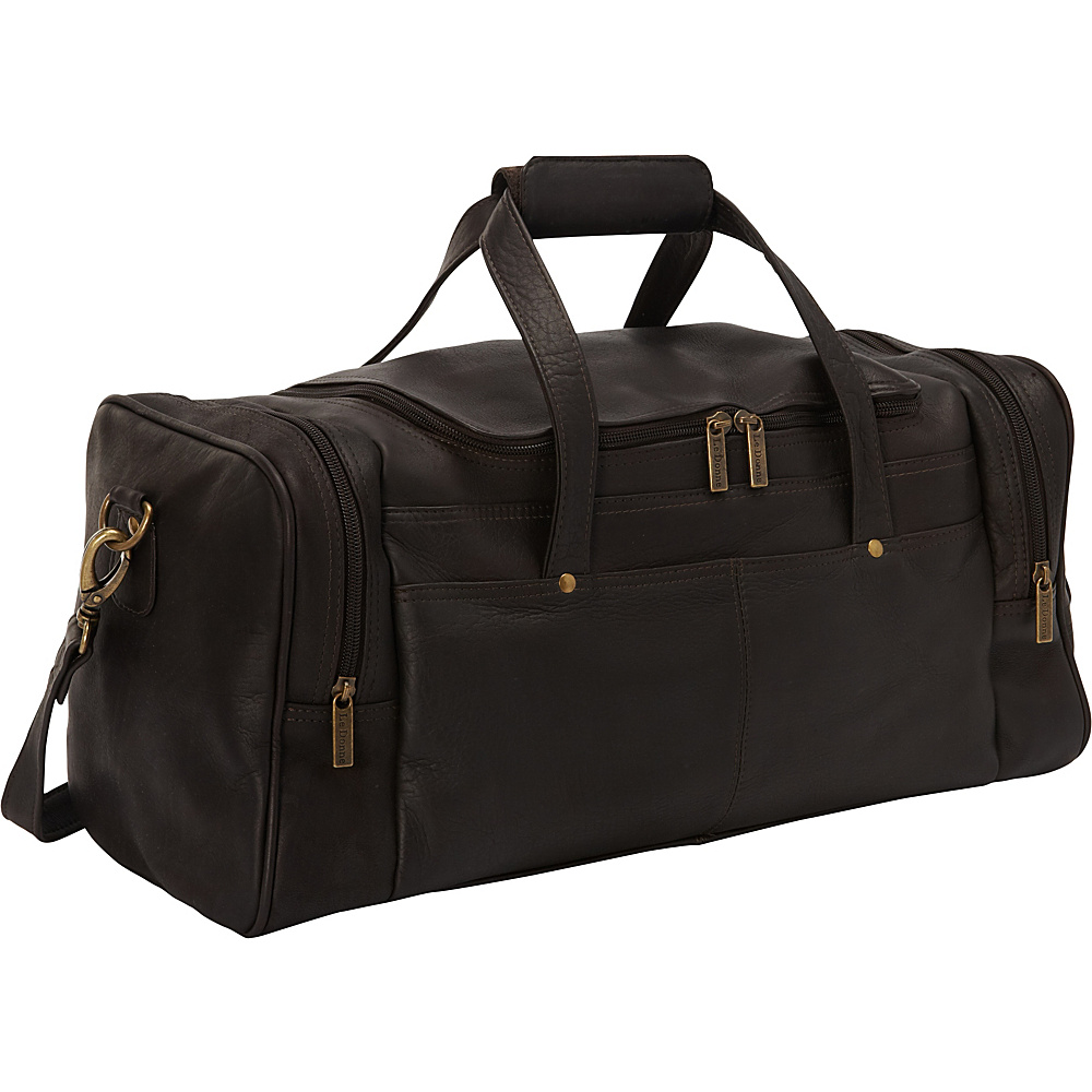 Le Donne Leather Hayden Duffle Cafe - Le Donne Leather Travel Duffels - Duffels, Travel Duffels