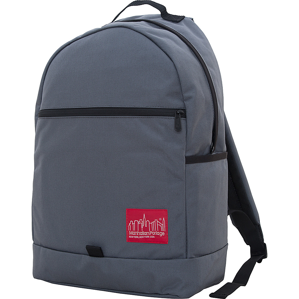 Manhattan Portage Cunningham Backpack Gray - Manhattan Portage Business & Laptop Backpacks - Backpacks, Business & Laptop Backpacks
