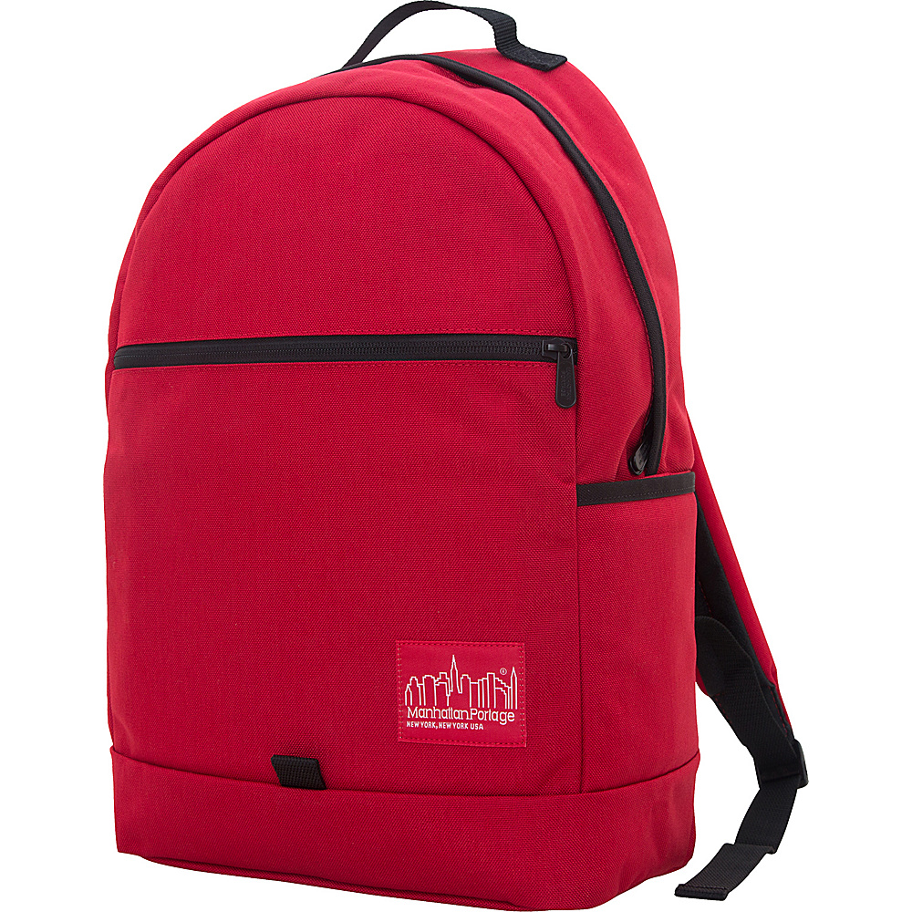 Manhattan Portage Cunningham Backpack Red Manhattan Portage Business Laptop Backpacks