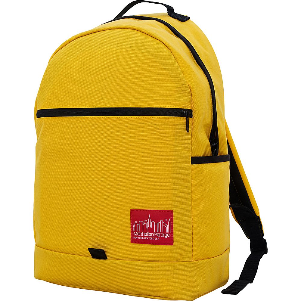 Manhattan Portage Cunningham Backpack Mustard - Manhattan Portage Business & Laptop Backpacks - Backpacks, Business & Laptop Backpacks