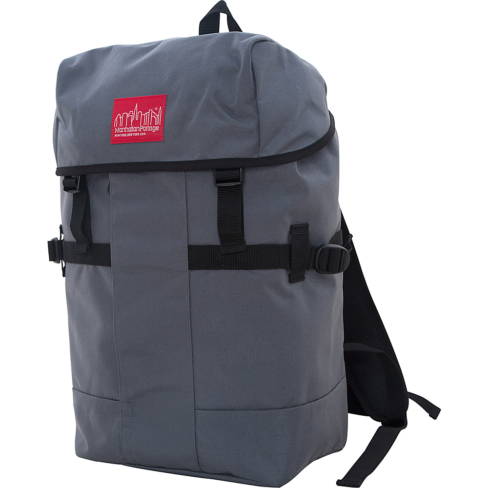 Manhattan Portage Greenbelt Hiking Backpack Gray - Manhattan Portage Day Hiking Backpacks - Outdoor, Day Hiking Backpacks