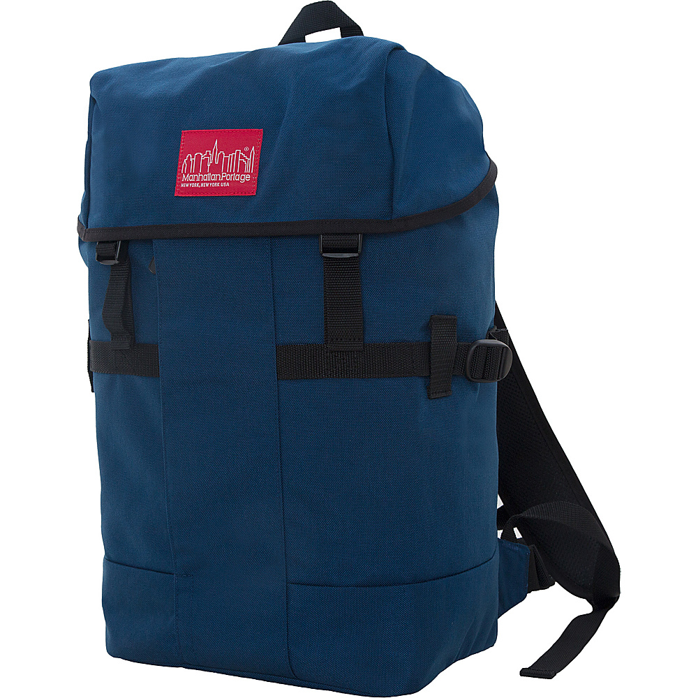 Manhattan Portage Greenbelt Hiking Backpack Navy - Manhattan Portage Day Hiking Backpacks - Outdoor, Day Hiking Backpacks