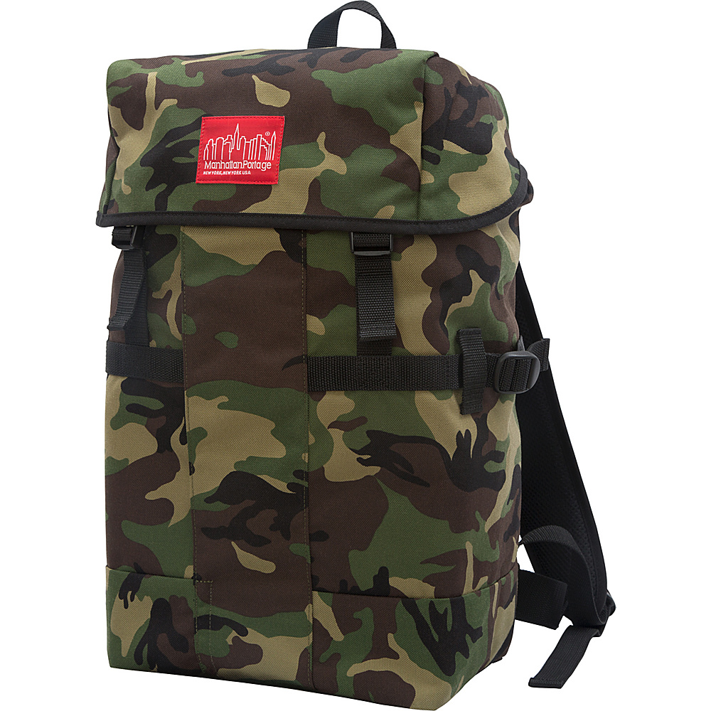 Manhattan Portage Greenbelt Hiking Backpack Camouflage - Manhattan Portage Day Hiking Backpacks - Outdoor, Day Hiking Backpacks