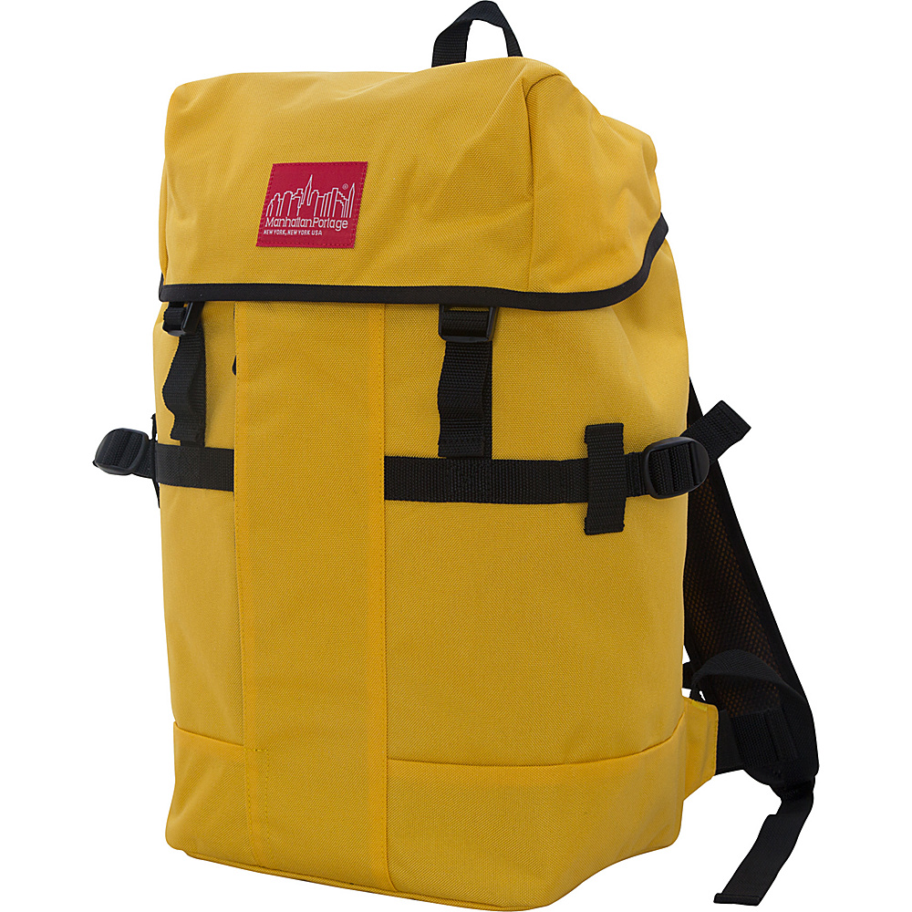 Manhattan Portage Greenbelt Hiking Backpack Mustard - Manhattan Portage Day Hiking Backpacks - Outdoor, Day Hiking Backpacks