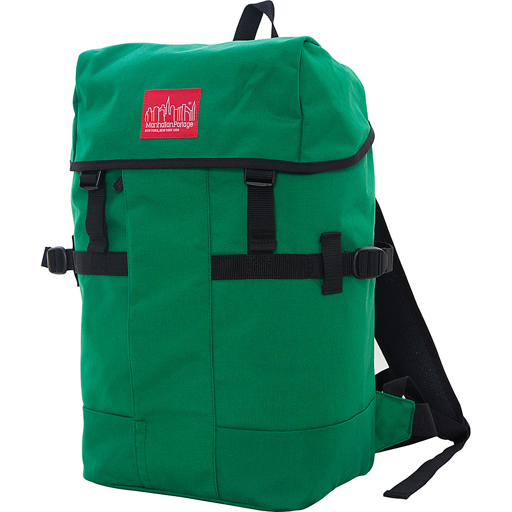 Manhattan Portage Greenbelt Hiking Backpack Green - Manhattan Portage Day Hiking Backpacks - Outdoor, Day Hiking Backpacks