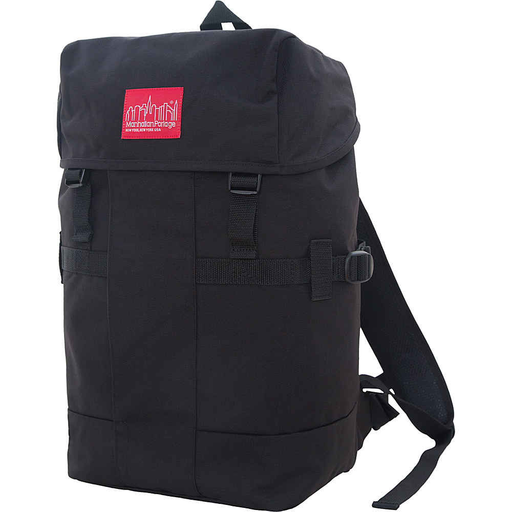 Manhattan Portage Greenbelt Hiking Backpack Black - Manhattan Portage Day Hiking Backpacks - Outdoor, Day Hiking Backpacks