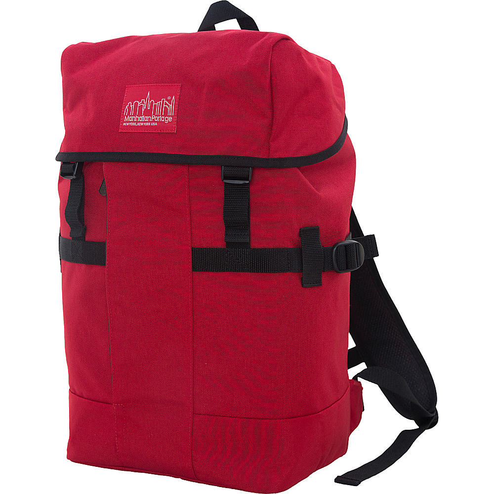 Manhattan Portage Greenbelt Hiking Backpack Red - Manhattan Portage Day Hiking Backpacks - Outdoor, Day Hiking Backpacks