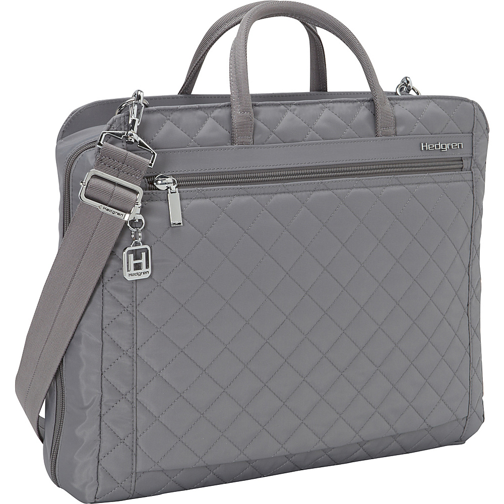 Hedgren Pauline Laptop Briefcase Mouse Grey Hedgren Non Wheeled Business Cases