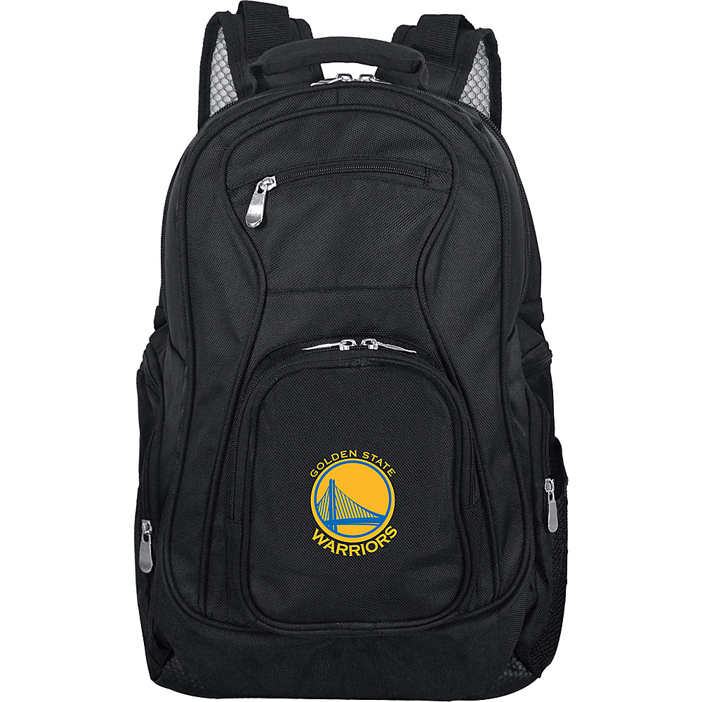 Denco Sports Luggage NBA 19 Laptop Backpack Golden State Warriors - Denco Sports Luggage Business & Laptop Backpacks - Backpacks, Business & Laptop Backpacks