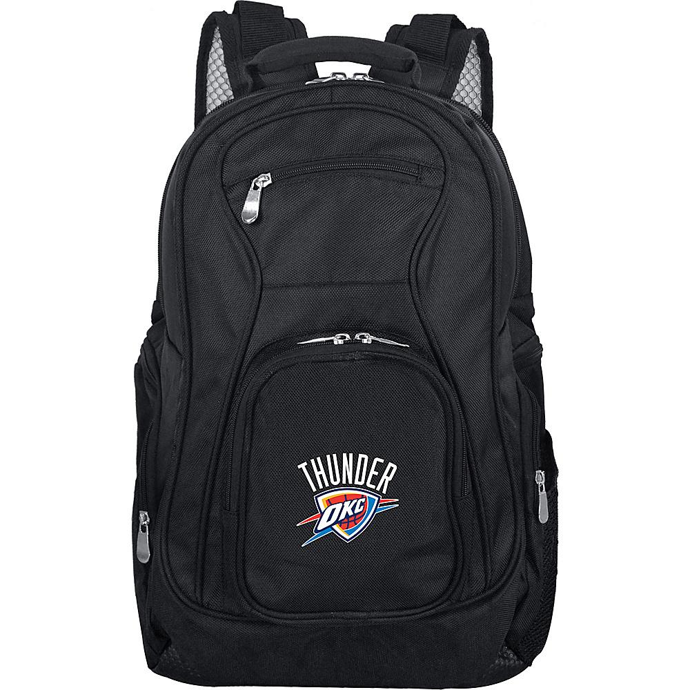 Denco Sports Luggage NBA 19 Laptop Backpack Oklahoma City Thunder - Denco Sports Luggage Business & Laptop Backpacks - Backpacks, Business & Laptop Backpacks