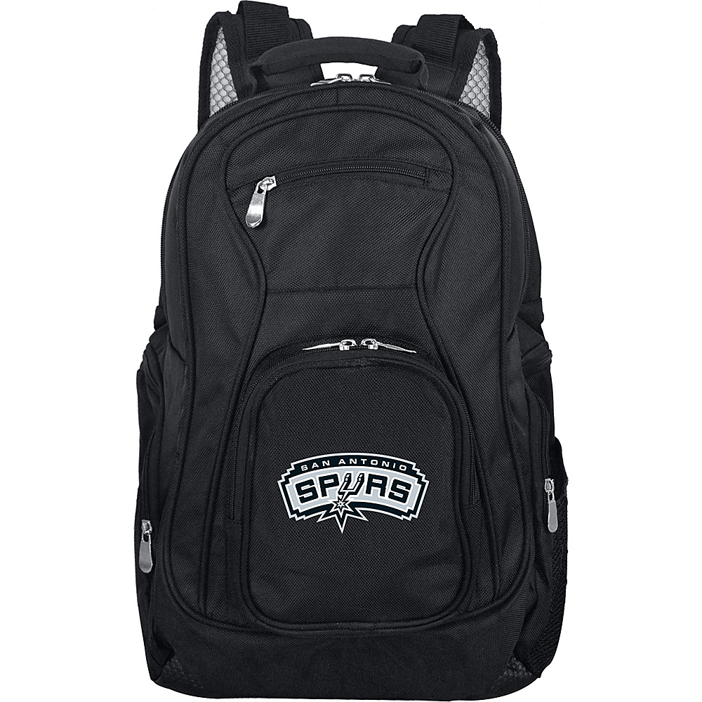 Denco Sports Luggage NBA 19 Laptop Backpack San Antonio Spurs - Denco Sports Luggage Business & Laptop Backpacks - Backpacks, Business & Laptop Backpacks