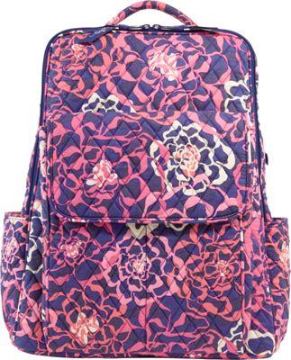 Vera Bradley Ultimate Backpack Katalina Pink - Vera Bradley Travel Backpacks