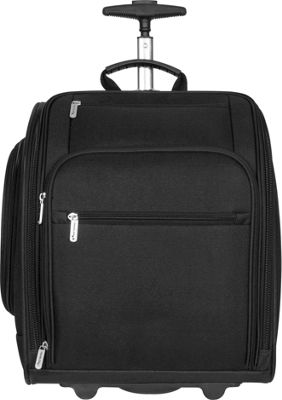 "Travelon 14"" Wheeled Carry on Black Small Rolling Luggage ..."