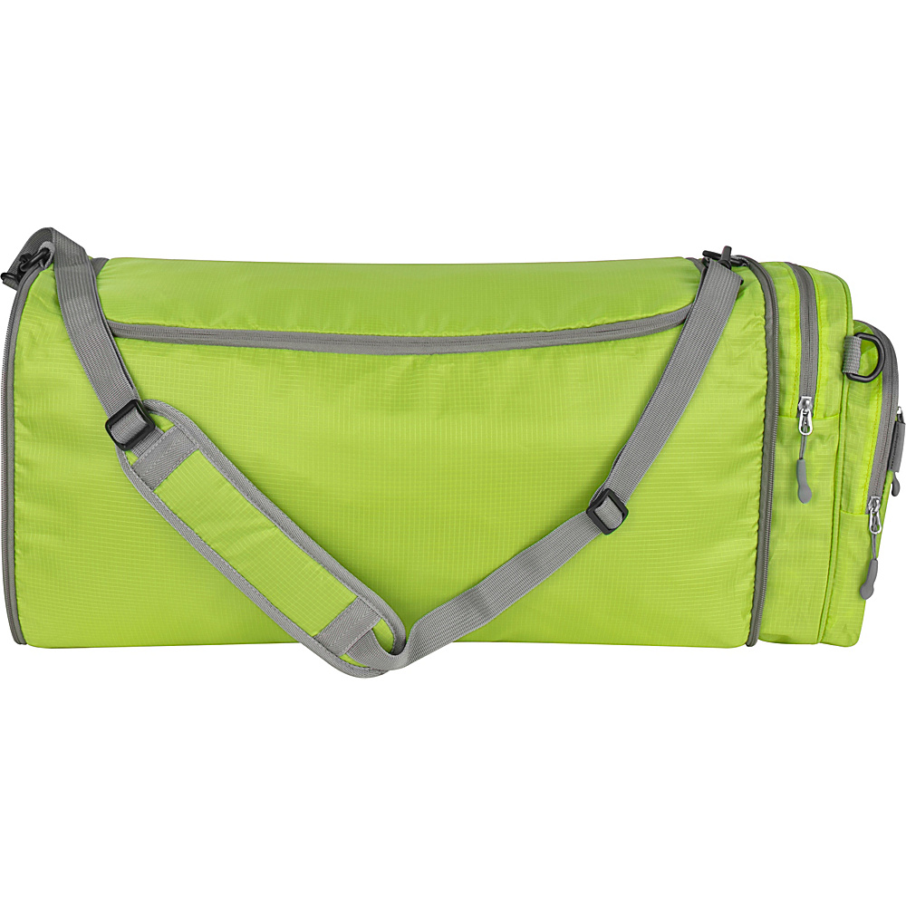 Travelon Convertible Crossbody Duffel Lime - Travelon Lightweight packable expandable bags