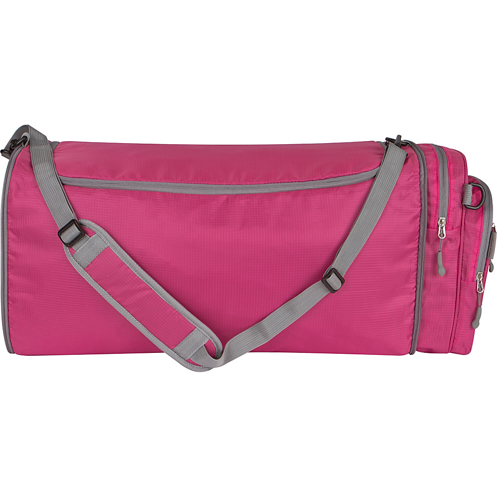 Travelon Convertible Crossbody Duffel Berry - Travelon Lightweight packable expandable bags