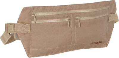 Lite Gear RFID-Microfiber Moneybelt Tan - Lite Gear Travel Wallets