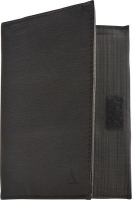 Image of Allett Leather Coin Pocket Wallet Black - Allett Mens Wallets