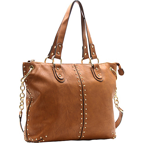 Robert Matthew Peyton Satchel Redwood - Robert Matthew Manmade Handbags