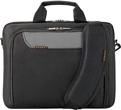 Everki Advance 14.1 inch Laptop Bag Black - Everki Non-Wheeled Business Cases