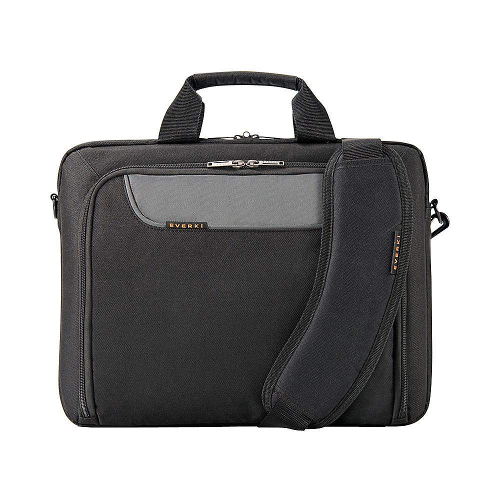 "Everki Advance 14.1"" Laptop Bag Black - Everki Non-Wheeled Business Cases"