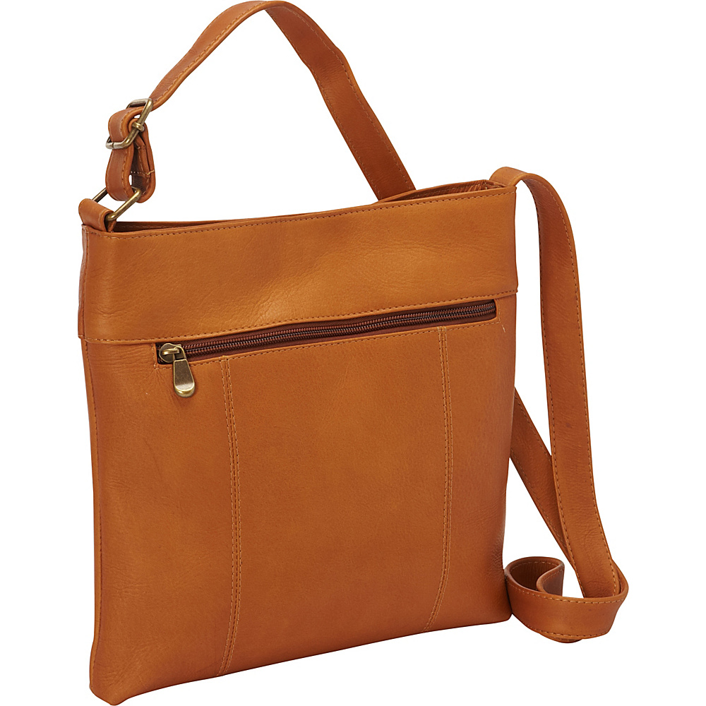 Le Donne Leather Derosa Crossbody Tan - Le Donne Leather Leather Handbags - Handbags, Leather Handbags