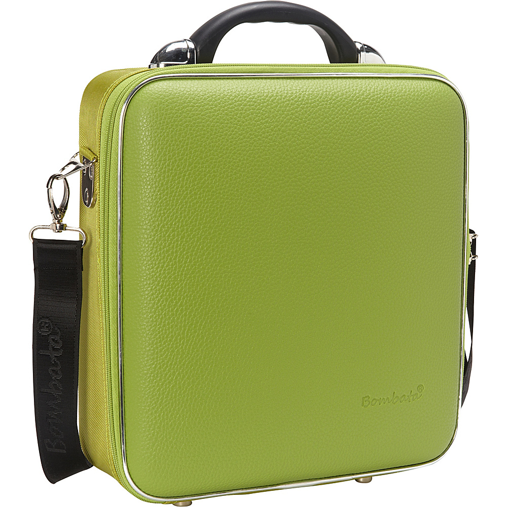 Bombata Medio Chubby Overnight 13 inch Laptop Bag Green Bombata Non Wheeled Business Cases