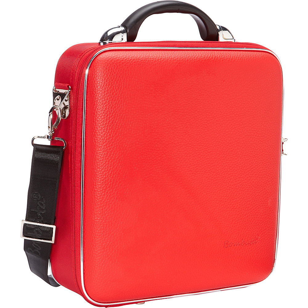 Bombata Medio Chubby Overnight 13 inch Laptop Bag Red Bombata Non Wheeled Business Cases