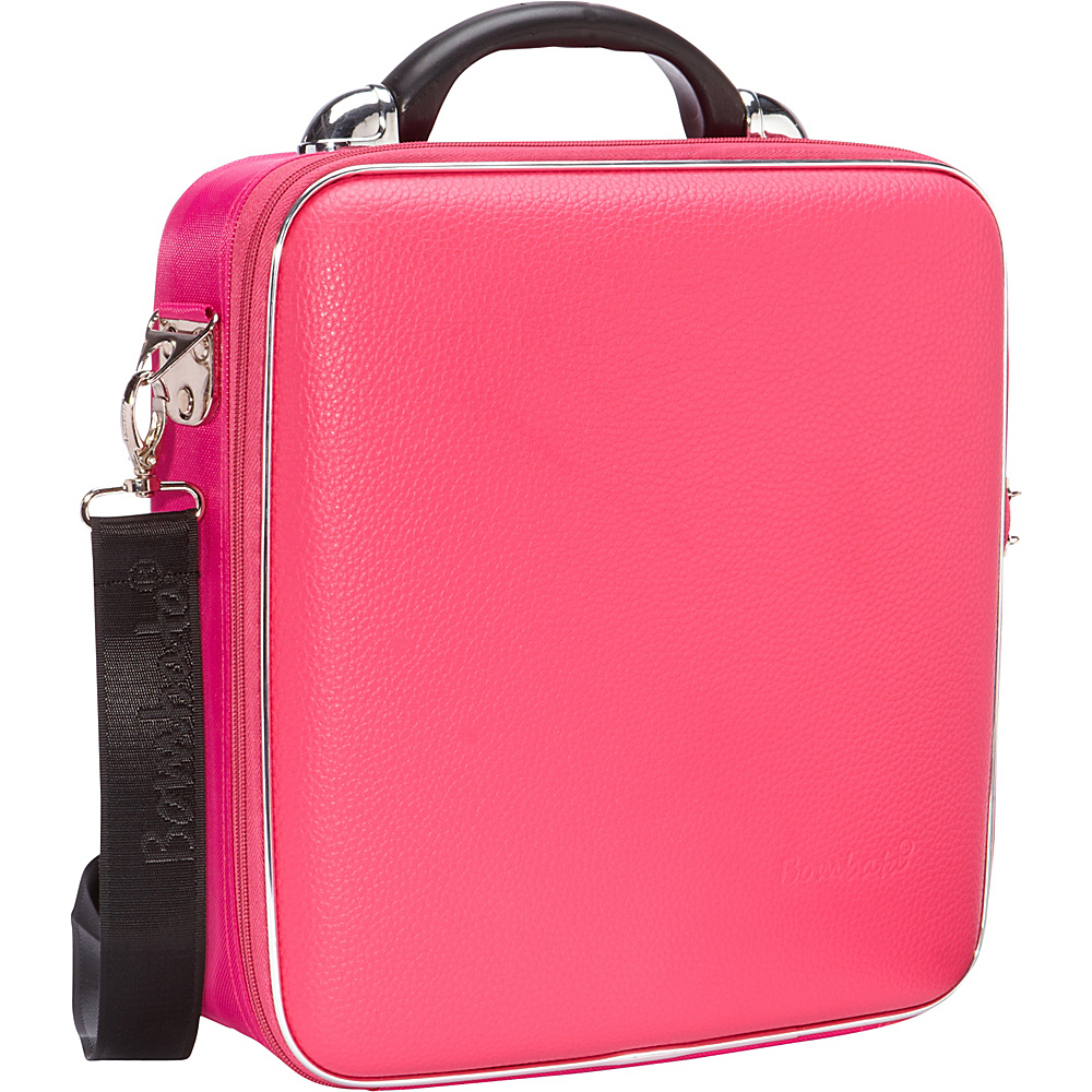 Bombata Medio Chubby Overnight 13 inch Laptop Bag Pink Bombata Non Wheeled Business Cases