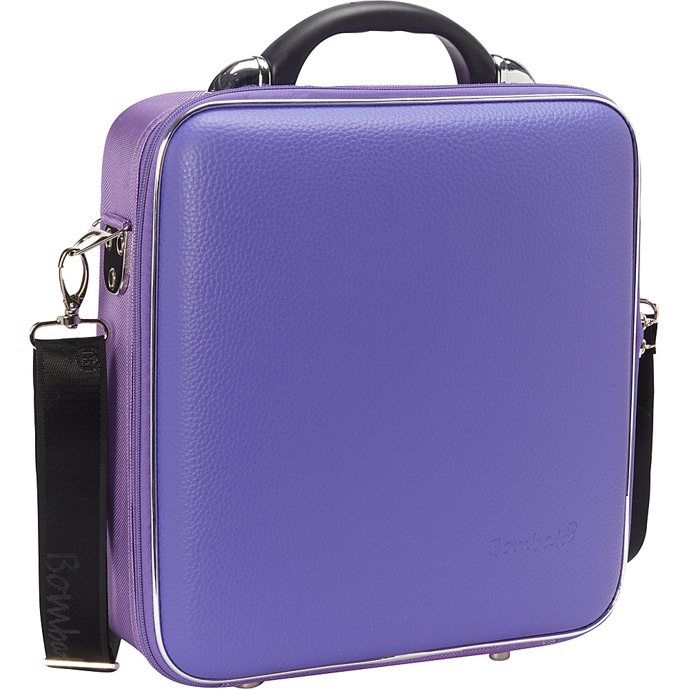 Bombata Medio Chubby Overnight 13 inch Laptop Bag Violet Bombata Non Wheeled Business Cases