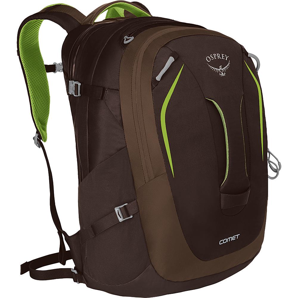 Osprey Comet Laptop Backpack Komodo Green - Osprey Business & Laptop Backpacks - Backpacks, Business & Laptop Backpacks
