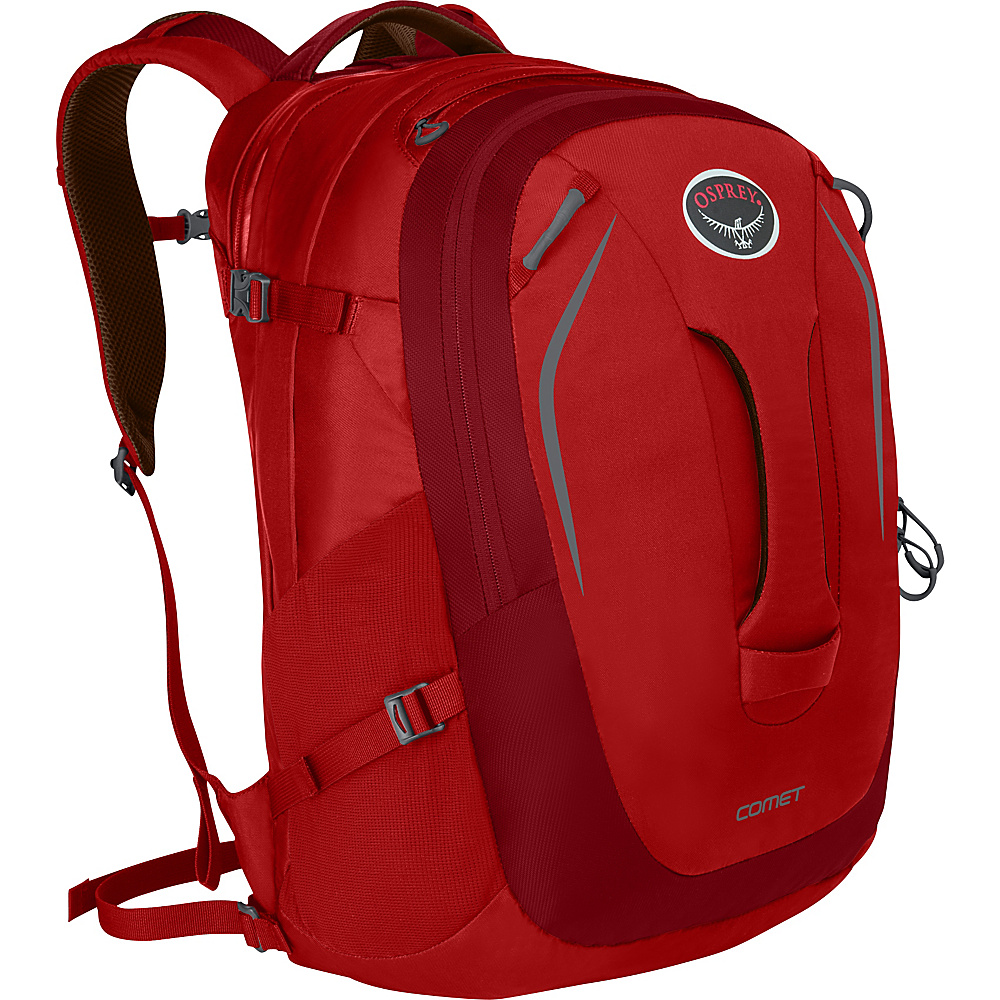 Osprey Comet Laptop Backpack Robust Red - Osprey Business & Laptop Backpacks - Backpacks, Business & Laptop Backpacks