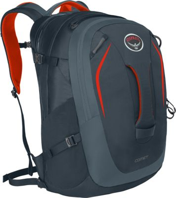 Osprey Comet Laptop Backpack Armor Grey - Osprey Business & Laptop Backpacks