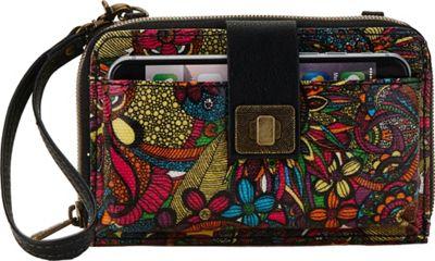 Sakroots Artist Circle Smartphone Crossbody Rainbow Spirit Desert - Sakroots Fabric Handbags
