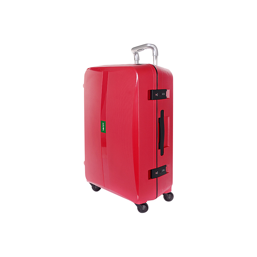 Lojel Octa Medium Luggage Red Lojel Hardside Checked